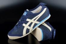 Asics Onitsuka Tiger Mexico 66 Schuh Dark Blue Off White