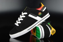 Element Billings 2 Black Rasta Sneaker 2013