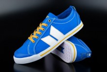 Macbeth Veganer Schuh Eliot Retro Blue Yellow