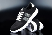 Macbeth Veganer Sneaker Bradley Black White