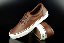 Vans Sneaker Era Aged Leather Brown